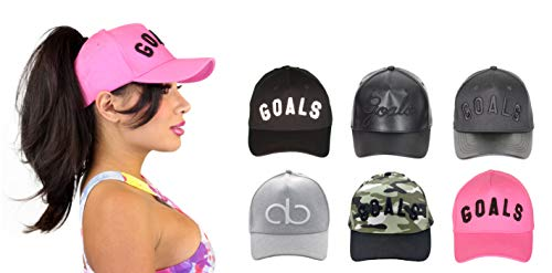 AB Butter Goals High Ponytail Hat for Women Embroidered Strapback Baseball  Cap Dad Hat 1fc334ebe498