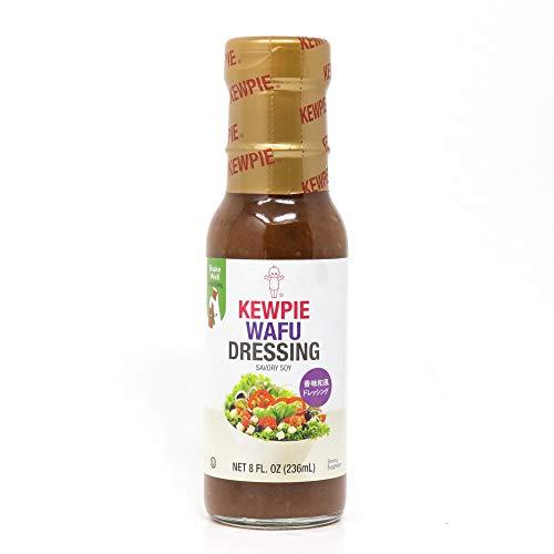 (Kewpie Savory Soy Dressing, Wafu, 8 Ounce (Pack of 12))