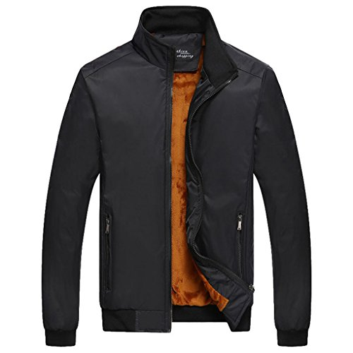 Zip Front Mens Windbreaker - 3