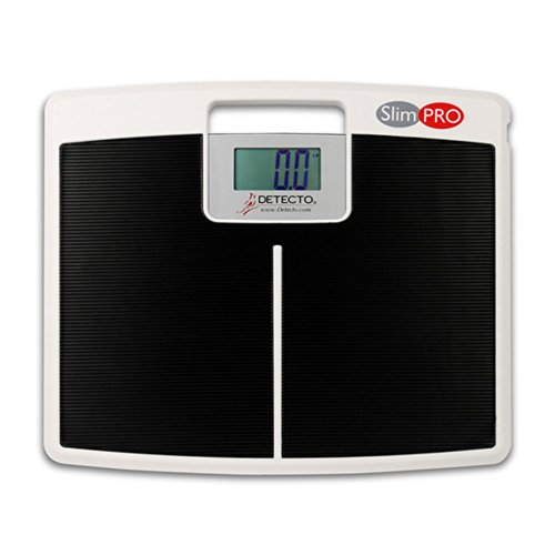 Detecto SlimPro Portable Electronic Home Bath Weigh ()