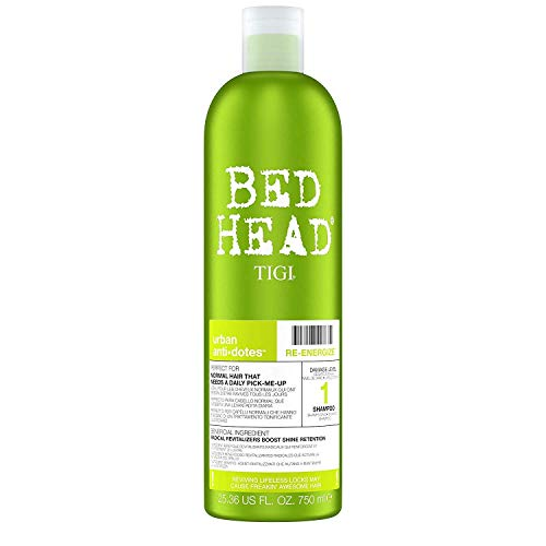 Tigi Bed Head Urban Antidotes Re-Energize Shampoo, 25.36 Ounce