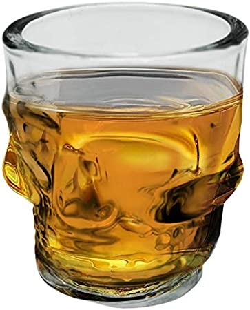 Vinbouquet Fia 471 Juego de 4 vasos de cristal para whisky, vodka, licor, 50 milliliters