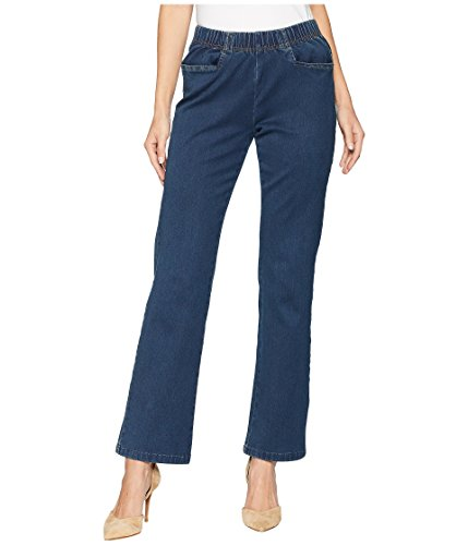 FDJ French Dressing Jeans Women's Petite D-Lux Denim Pull-On Suzanne Bootcut Indigo 14 28 ()