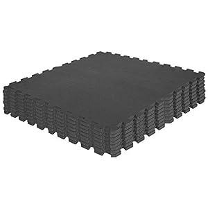 Schutzmatten-Set – GORILLA SPORTS 8 Puzzle-Matten / Sport-Matten 60 x 60 cm,...