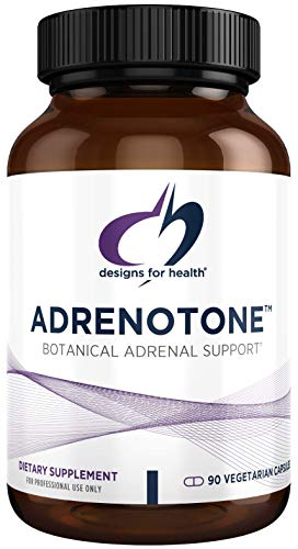 Designs for Health Adrenotone - Adrenal Support Formula with Licorice (90 Capsules)