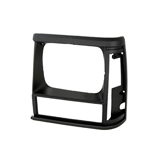 CarPartsDepot 1991-1996 JEEP CHEROKEE LEFT HEADLAMP DOOR HEAD LIGHT BEZEL DRIVER ASSEMBLY (Bezel Door Assembly)