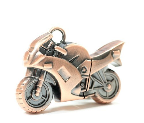 WooTeck 32gb Strong Metal Motocryle USB Flash Drive Memory Stick