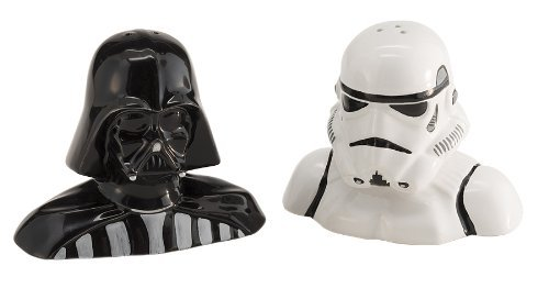 Vandor Star Wars Salt & Pepper Shakers (54017) (Darth Vader & Stormtrooper Salt & Pepper Shakers)