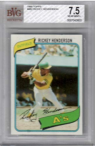 1980 Topps Baseball Complete 726 Hand Collated Card Set With BGS 7.5 Near Mint + Henderson Rookie Card