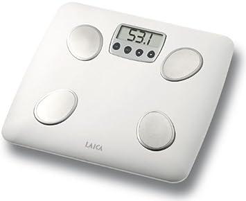 Laica PS4007 - Báscula de baño (LCD, 71 x 30 mm, Color blanco, 31 cm, 31 cm, 2,7 cm): Amazon.es: Hogar