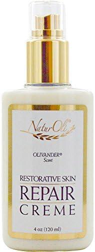 NaturOli Restorative Skin Repair Creme – 4.0 oz. A Genuine 100 Natural Skin Repair Creme. an Amazingly Nourishing Highly Effective top Seller – Gluten Free – Made in USA