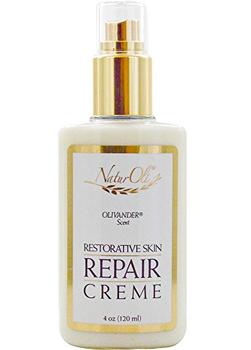NaturOli Restorative Skin Repair Creme - 4.0 oz. A Genuine 100% Natural Skin Repair Creme. an Amazingly Nourishing & Highly Effective top Seller! - Gluten Free! - Made in USA!