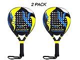 Padel Tennis Racket Racquet Carbon Fiber Power Lite