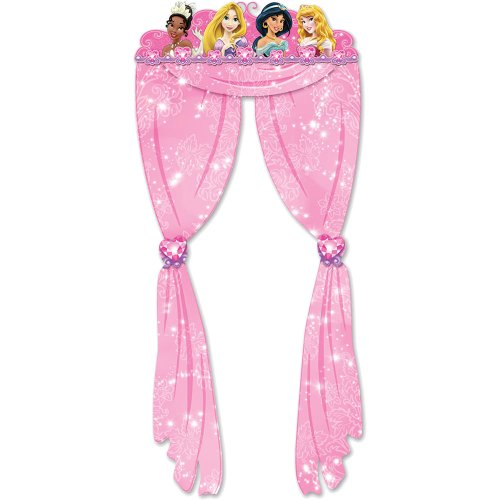 Princess Doorway Curtain Birthday and Holiday Party Supplies