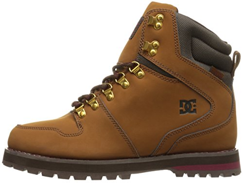 DC Shoes Men's Peary Work Boots Shoes Brown (coc)