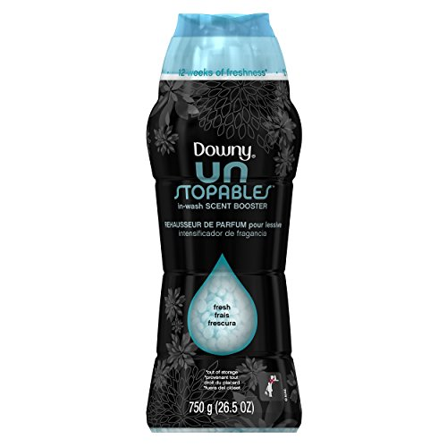 Downy Unstopables Fresh In-Wash Scent Booster Fabric Enhancer 26.5oz