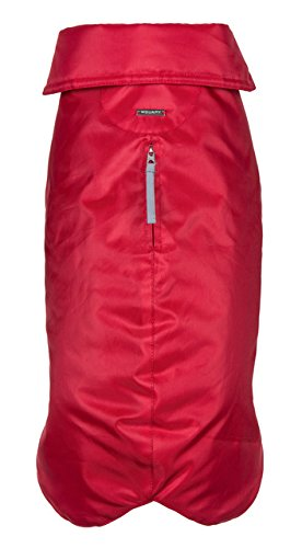 City Adventure Casual Oxford - Wouapy 90054 Raincoat for Dogs, Essential Red, Small