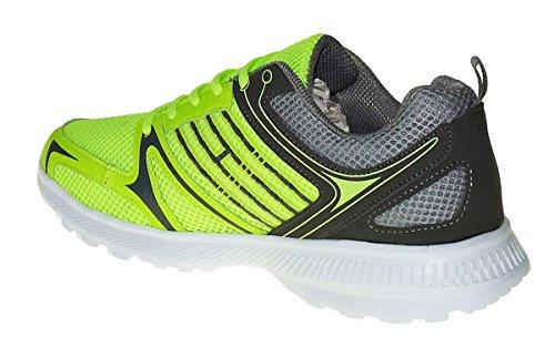 Turnschuhe Sneaker Herren Schuhe Neon 732 Art Sportschuhe Neu ZwEB1xq