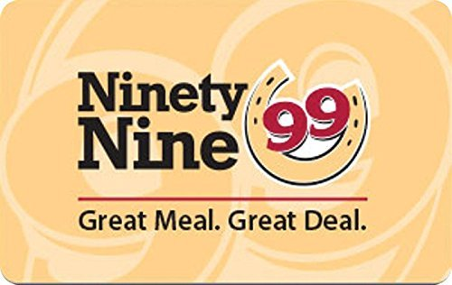 Ninety Nine Restaurants Gift Card