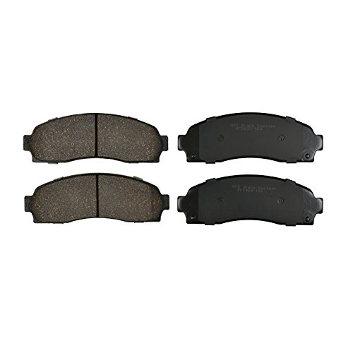 Price comparison product image KFE Ultra Quiet Advanced Premium Ceramic FRONT Brake Pad Set KFE833-104