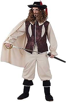 DISBACANAL Disfraz Mosquetero Hombre - -, L: Amazon.es: Juguetes y ...