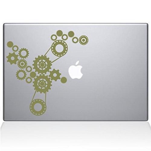 最安値に挑戦! The Decal Gold Steampunk Guru Steampunk Gears Macbook Decal Vinyl [並行輸入品] Sticker - 13 Macbook Pro (2016 & newer) - Gold (1184-MAC-13X-G) [並行輸入品] B0788KW986, 新座市:764af8ba --- a0267596.xsph.ru