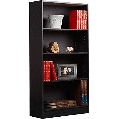 Orion 4-Shelf Bookcase (Black - set of 3)