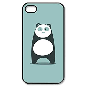 Customized Dual-Protective Case for Iphone 4,4S, Panda Cover Case - HL-R655587