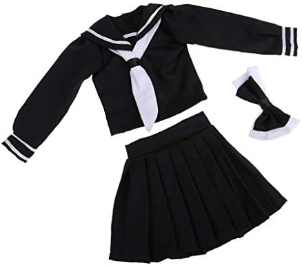 人形服 かわいい 学校制服 1/3 Bjdスケール 女の子人形用