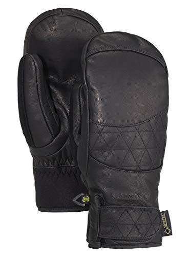 Burton Women's Gondy Gore-tex Leather Mitten, True Black, Small ()