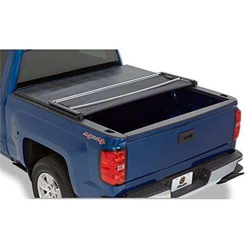 Bestop 16220-01 EZ-Fold Truck Tonneau Cover for 2015-2018 Chevy Colorado/GMC Canyon, 6.2' bed for sale