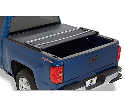 Bestop 16182-01 EZ Fold Truck Tonneau Cover for 2007-2018 Toyota Tundra (w/o Deck Rails), 5.5' Bed