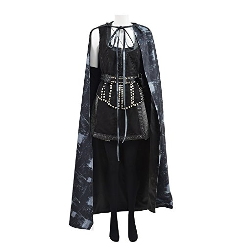 TISEA Mens Womens Hot US TV Series Costume for Halloween and Cosplay Party (L, Regina Mills) ()