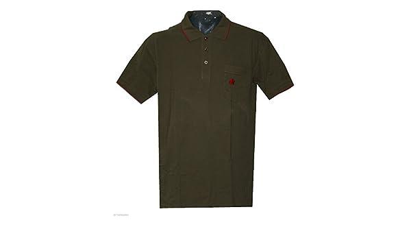 AHORN Arce – Polo para Hombre übergröße Verde Oliva tamaño XXL: 3 ...