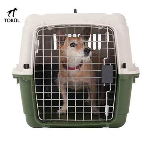 M Savic Feria Pet Carrier Dogs Cats Rabbits (IATA) Green