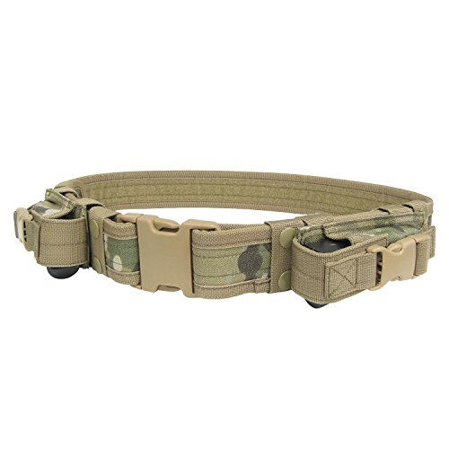 Condor Tactical Belt (Multicam, Up to 44-Inch Waist) Ammo Belt