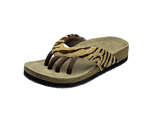 Wellrox Women's Terra-Austin Tiger Casual Sandal 6 by Wellrox