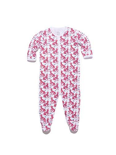 Roberta Roller Rabbit Infant Kath Footie Pajamas 6-9 Months Coral