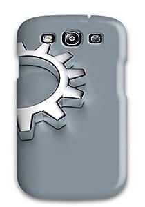 Julian B. Mathis's Shop Cute Tpu Grey Gears Case Cover For Galaxy S3