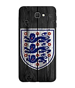 ColorKing Football England 16 Black shell case cover for Samsung J7 Prime