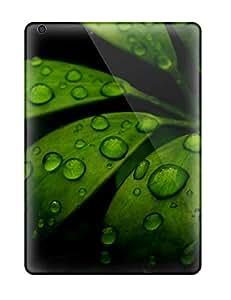 RonaldChadLund Ipad Air Hybrid Tpu Case Cover Silicon Bumper Fresh Tropical Leaves