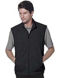 Mens Classic Lightweight Zip Front Solid Vest #1961