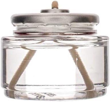D'light Online HD8-180 Liquid Wax Disposable Clear 8 Hour Tea Light Fuel Cell Oil Candle Cartridge Disposable Liquid Paraffin - Set of 180 Liquid Tealights
