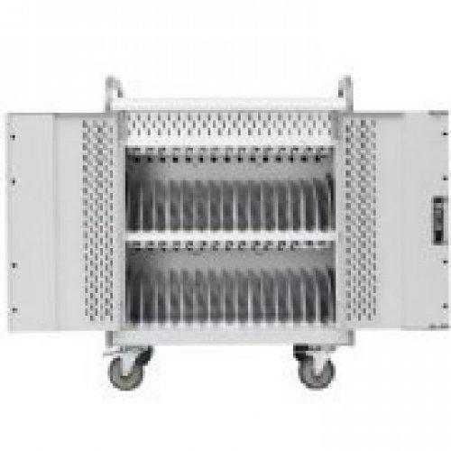 BRETFORD MANUFACTURING 30 UNIT LAPTOP STORAGE CART / MDMLAP30BP-CTAL - Laptop Storage Computer Bretford Cart
