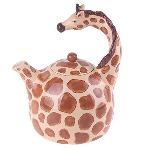 Blue Sky Ceramic Giraffe Teapot product image