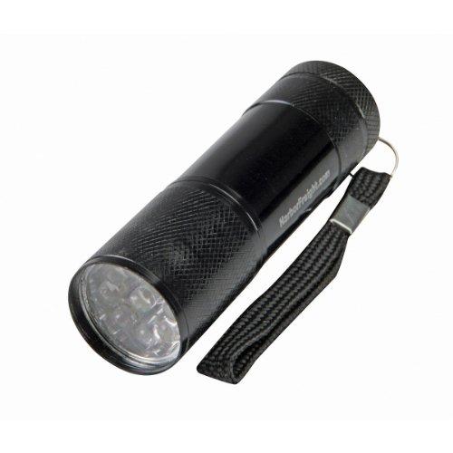 "Pittsburgh Pictures 3-1/2"" 9 LED Mini Flashlight"