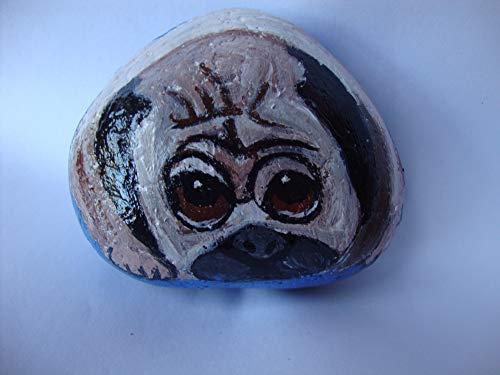 Buy pug garden stone
