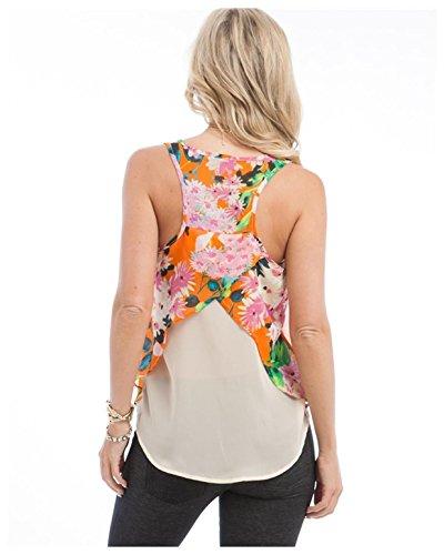 5c3eb61e4814a G2 Chic Women s Spring Print Chiffon Tank Top Dressy - Import It All