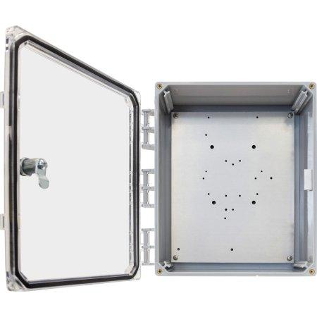 Ventev / TerraWave - 14x12x6 Enclosure. Clear Door/Key Locks