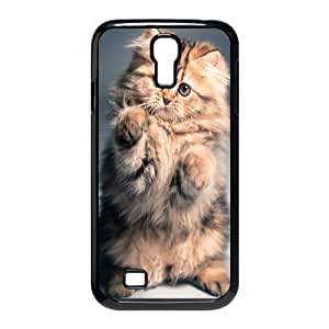 Customized Dual-Protective Case for SamSung Galaxy S4 I9500, Cat Cover Case - HL-701949